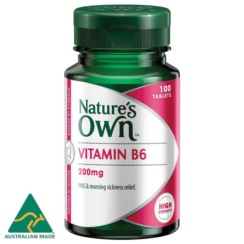 네이쳐스온 비타민 B6 200mg 1..