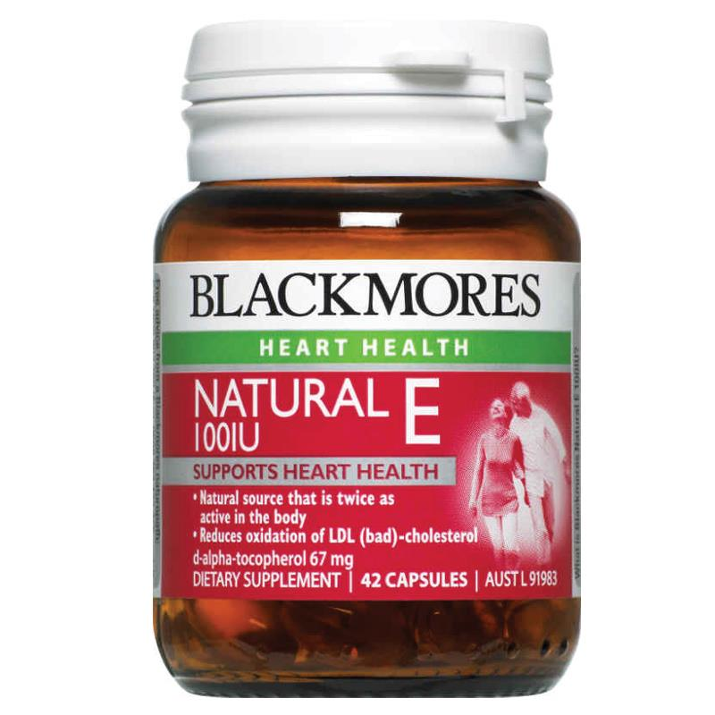 블랙모어스 네츄럴 비타민E 100IU..