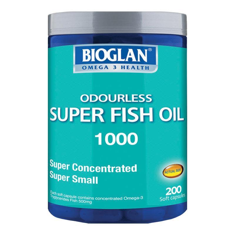 바이오글랜 슈퍼오더리스피쉬오일1000..