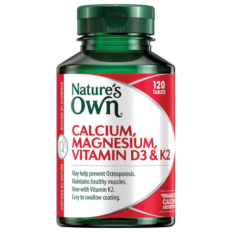 네이쳐스온 칼슘마그네슘 비타민D3 K..