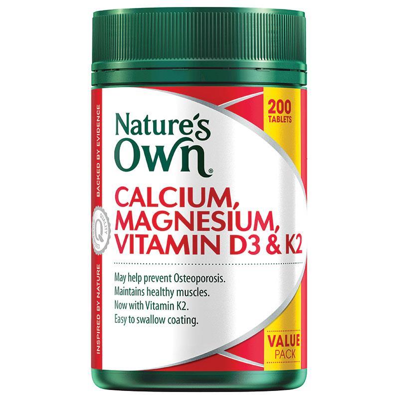 네이쳐스온 칼슘 ,마그네슘 ,비타민D..