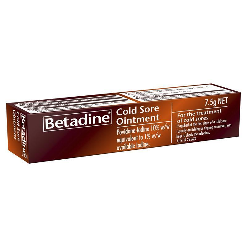 It is the herpes virus Betadine Kill - Herpes Advicer