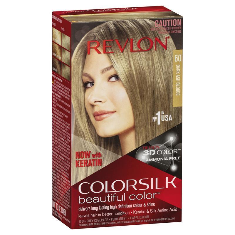 Surprising Revlon Colorsilk 60 Dark Ash Blonde Ebay Short Hairstyles For Black Women Fulllsitofus