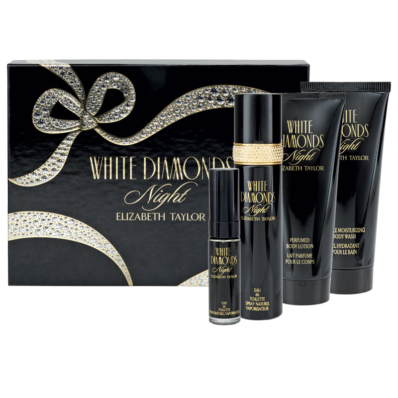 Elizabeth Taylor White Diamonds Ml Gift Set