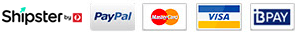 Payment & Security - Trusted by GeoTrust | McAfee SECURE | Braintree | PayPal | MasterCard | Visa | BPAY
