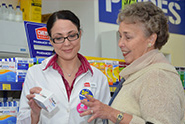 Prescription Medicines in Store at the Chemist Warehouse