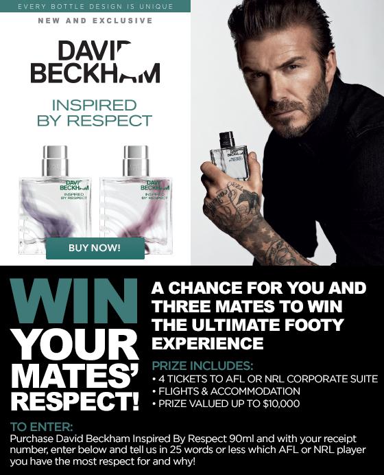 David Beckham Inspired Respect