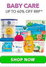 Up to 60%25 Off Baby Care