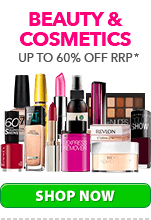 Up to 60% Off Beauty