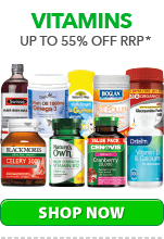 Up to 55% Off Vitamins