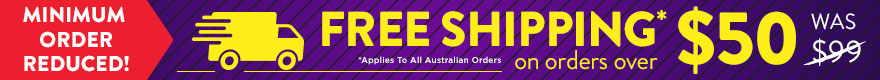 ePharmacy – Free shipping over $50 spend