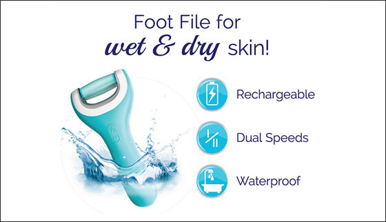 Foot File for wet & dry skin - Chemist Warehouse