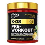 BSc K-OS Pre-Workout 180g Pineapple Coconut