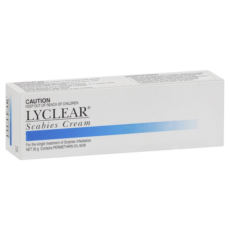 Lyclear Scabies Cream 30g at Chemist Warehouse in Campbellfield, VIC | Tuggl