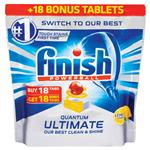 Finish Ultimate Lemon 18+18 Tablets