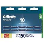 Gillette Mach 3 Turbo 3D Cartridges Value 10 Pack