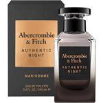 Abercrombie & Fitch Authentic Night For Him Eau de Toilette 100ml