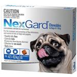Nexgard Medium 4.1-10Kg 6 Pack