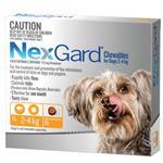 Nexgard Very Small 2.0-4Kg 6 Pack