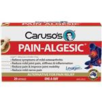 Carusos Natural Health Painalgesic for Joints 20 capsules