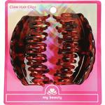 My Beauty Hair Claw Clip Large 2 Pack Demi Amber