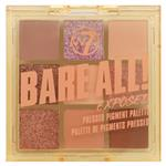 W7 Bare All! Exposed 9 Pressed Pigment Eyeshadow Palette