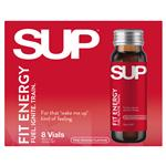 SUP Shots Fit Energy 8x50ml Vials