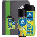 Adidas Get Ready Deodorant Body Spray & Shower Gel 2 Piece Set