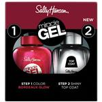 Sally Hansen Miracle Gel Duo 3.0 Bordeaux Glow