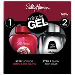 Sally Hansen Miracle Gel Duo 3.0 Bordeaux Glow