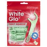 White Glo Flossers Tight Fit Mint 100 Pack