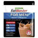 Naturopathica Fatblaster Shake for Men Chocolate Pouch 385g
