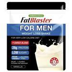 Naturopathica Fatblaster Shake for Men Vanilla Pouch 385g