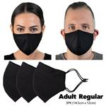 HPE Reusable Face Mask Adult Regular 3 Pack