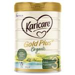 Karicare Gold Plus+ Organic 3 Toddler Milk Drink From 12+ Months 900g