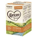 Karicare 1 Baby Infant Formula Powder Sachets From Birth to 6 Months 5 Pack 21.9g