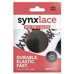 Synxlace No Tie Laces Black