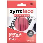 Synxlace No Tie Laces Pink