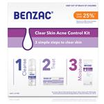 Benzac Acne Control 3 Step Acne Kit