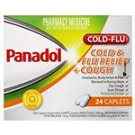 Panadol Cold and Flu Relief + Cough 24 Caplets