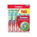 Colgate Toothbrush Twister Soft 5 Pack
