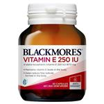 Blackmores Vitamin E 250IU 50 Capsules NEW
