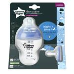 Tommee Tippee Closer to Nature Glow Bottle & Breast Like Soother Night Time 260ml