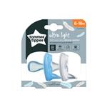 Tommee Tippee Silicone Soother 6-18 Months 2 Pack