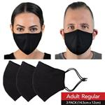 Wagner Body Science X HPE Reusable Face Mask Adult Regular 3 Pack