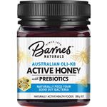Barnes Naturals Australian OLI-K8 Active Honey With Prebiotics 500gm (Not For Sale in WA)