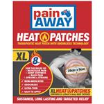 Pain Away Heat Patches XL 2 Pack