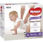 Huggies Ultimate Nappy Pants Size 4 10-15kg Jumbo 50 Pack