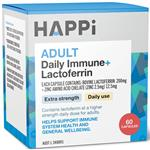 Happi Adults Daily Immune + Lactoferrin 60 Capsules Online Only