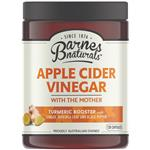 Barnes Naturals Apple Cider Vinegar with The Mother Turmeric Boost 120 Capsules